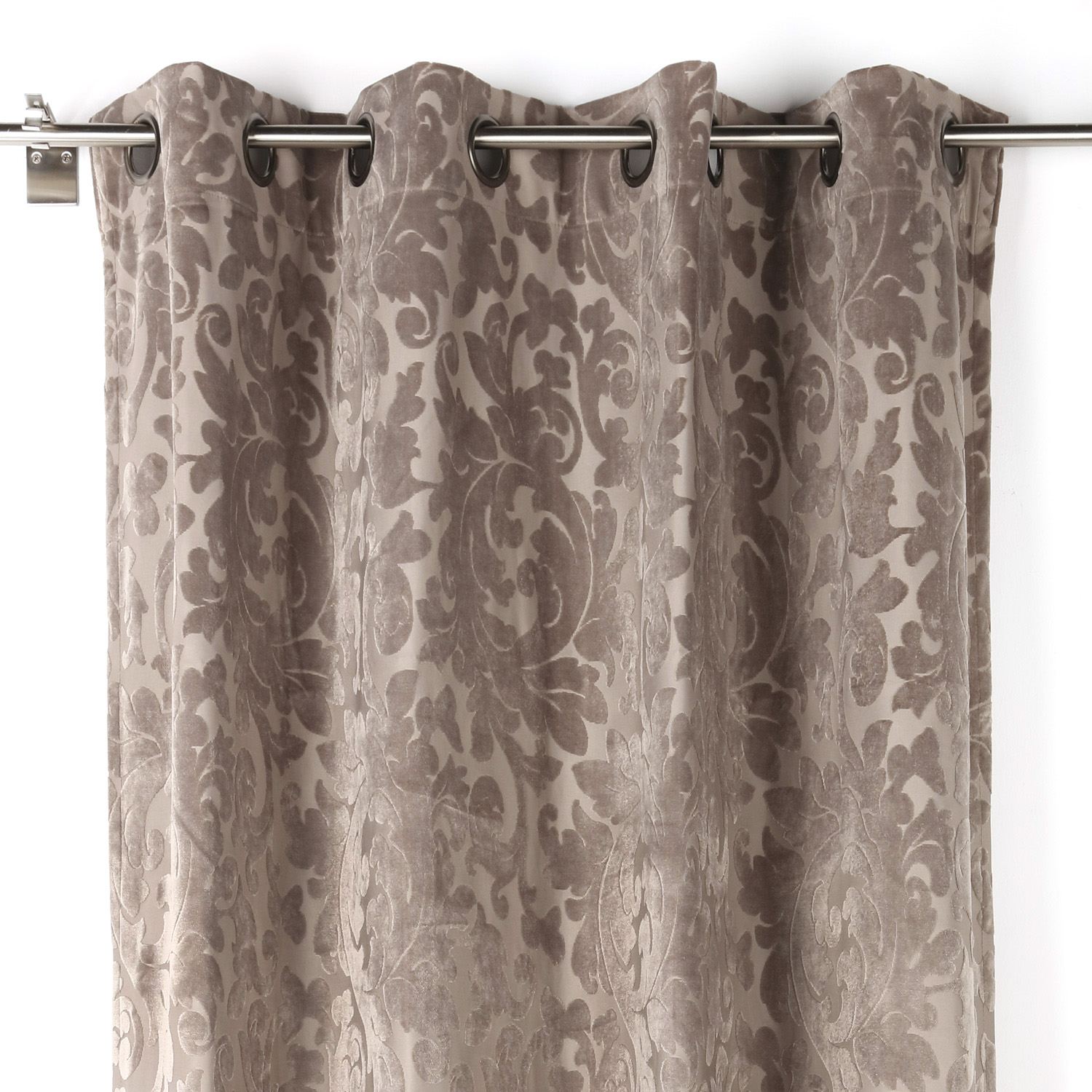 Cortina capuleto 02 140 x 270 cm rioma shop for Cortinas de salon 2015