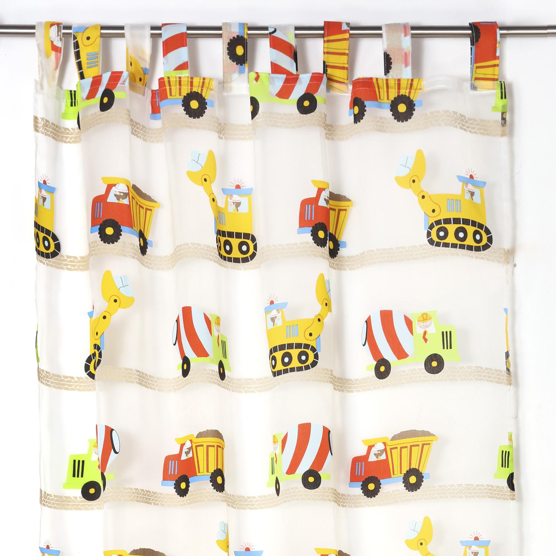 Visillo infantil camiones
